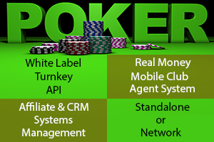 shows the different poker productr for startup